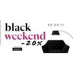 Black Weekend 9design: 20% zniżki na designerskie meble, dodatki i lampy