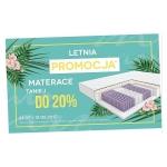 AbcSypialni: do 20% rabatu na wybrane materace