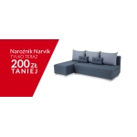 Abra Meble: narożnik Narvik 200 zł taniej