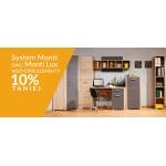 Abra Meble: 10% zniżki na meble System Monti oraz Monti Lux