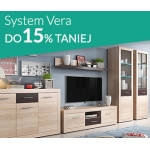 Abra Meble: do 15% zniżki na meble z kolekcji System Vera