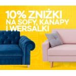 Abra Meble: 10% zniżki na sofy, kanapy i wersalki