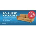Abra Meble: 10% rabatu na wszystkie sofy, fotele, narożniki i kanapy