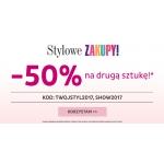 Ania Kruk: weekend zniżek 50% rabatu na drugą sztukę