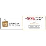 Ania Kruk: weekend zniżek 50% rabatu na drugi zakupiony produkt