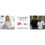 Answear: 20% rabatu na koszulki przy zakupie 2 sztuk
