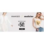 Answear: wyprzedaż do 50% zniżki na produkty marek Mango i Medicine