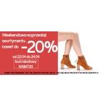 Arturo: do 20% zniżki na buty