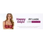 Astratex: Happy Days 25% zniżki na bieliznę damską, męską i dziecięcą