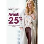 Top Secret: 25% zniżki na limitowaną kolekcjęz magazynem Avanti