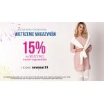 Avaro: wyprzedaż 15% zniżki na modę damską