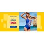Avaro: do 60% rabatu na kostiumy kąpielowe