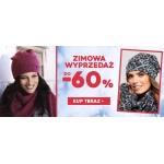 Avaro: wyprzedaż do 60% rabatu na czapki, szaliki, rękawiczki damskie