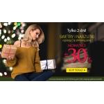 Avaro: do 30% zniżki na swetry i narzutki