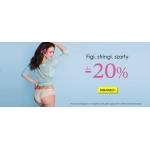 Avaro: do 20% zniżki na figi, stringi i szorty
