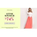 Avaro: do 74% rabatu na letnie kolekcje odzieży