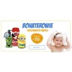 BDDziecko.pl: 20% zniżki na akcesoria do kąpieli dziecka