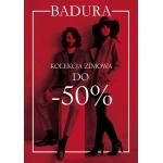 Badura: kolekcja zimowa do 50% taniej