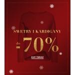 Balladine: wyprzedaż do 70% zniżki na swetry i kardigany