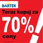 Bartek: wyprzedaż do 70% zniżki