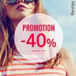 Bershka: promocja do 40%