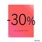 Bershka: 30% zniżki