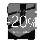 Black Friday w Bershka: 20% zniżki na wybrane produkty