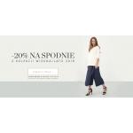 Bialcon: 20% zniżki na spodnie z kolekcji wiosna-lato 2018