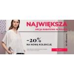 Bialcon: Stylowe Zakupy 20% rabatu na nową kolekcję odzieży damskiej