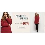 Bialcon: wyprzedaż do 40% zniżki na zimowe kurtki i płaszcze damskie