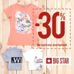 Big Star: 30% zniżki na wybrane produkty