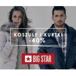 Big Star: promocja 40% na kurtki, płaszcze i koszule