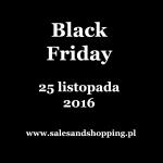 Black Friday 2016: lista sklepów oferujących zniżki w dniu 25 listopada 2016