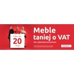 Black Red White: meble taniej o VAT