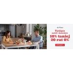 Black Red White: wyprzedaż 10% rabatu na meble i dodatki oraz 20 rat 0%