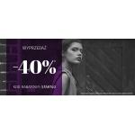 Blue Shadow: wyprzedaż 40% zniżki na odzież