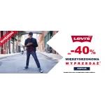 Bluestilo: wyprzedaż do 40% zniżki na markę Levis