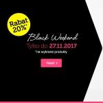 Black Weekend Bon Prix: 20% zniżki na wybrane produkty