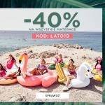 Born2be: 40% rabatu na wszystkie materace plażowe