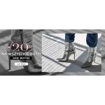 Born2be: 20% rabatu na wszystkie buty damskie, męskie i dziecięce