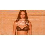 Boutique Bielizny: wyprzedaż do 50% zniżki na bieliznę damską oraz stroje kąpielowe