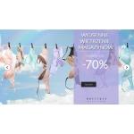Boutique Bielizny: wyprzedaż do 70% zniżki na bieliznę dla kobiet