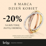 Briju: 20% zniżki na biżuterięzłotą i srebrną