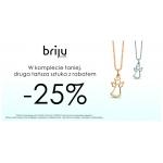Briju: 25% rabatu na drugą sztukę łańcuszków, medalików i krzyżyków z kolekcji Sacre
