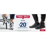 ButySportowe.pl: wyprzedaż + extra do 20% zniżki na buty lifestyle
