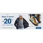 ButySportowe.pl: 20% rabatu na buty i ubrania zimowe