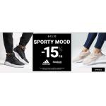 ButySportowe.pl: 15% zniżki na odzież i obuwie sportowe marek Adidas i Reebok