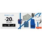 ButySportowe.pl: 20% rabatu na modną odzież i obuwie marki Lotto, Umbro, Feewear