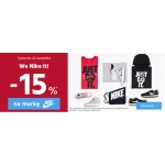 ButySportowe.pl: 15% rabatu na odzież i obuwie sportowe marki Nike