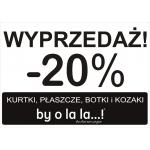 By o la la...!: 20% zniżki na kurtki, płaszcze, botki i kozaki